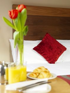 Enjoy breakfast in bed on your