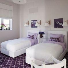 Lilac little girls room