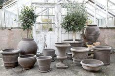 Nyt tilattavissa Home In Garden Ruukkuverkkokaupasta. Terracotta, Outdoor Living, Planters, Grey, Instagram, Home, Handmade, Style, Gray
