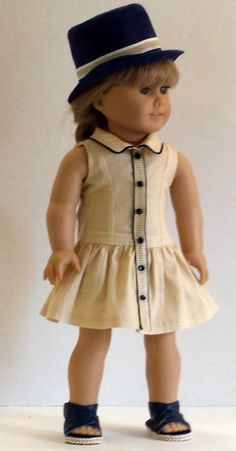 5 FABRIC PIECES   FOR DOLL CLOTHES-BROWN /& CREAM