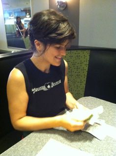 Don't interrupt RACHEL while she's counting (and smiling)! www.veggiegalaxy.com