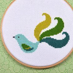 SewingSeed Fancy Bird