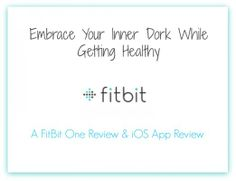 Embrace Your Inner Dork While Getting Healthy — A FitBit One Device - Amazing, comprehensive review by Jen Steed at http://catholicmom.com/2014/04/08/embrace-your-inner-dork-while-getting-healthy-a-fitbit-one-device-ios-app-review/