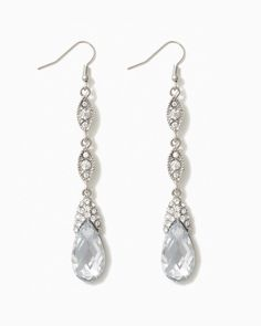 charming charlie | Teardrop Majesty Earrings | UPC: 400000467887 #charmingcharlie For the bridesmaids