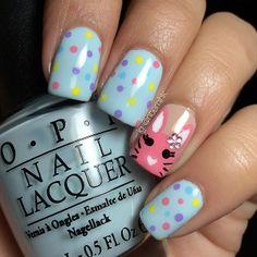 noemihk easter #nail #nails #nailart