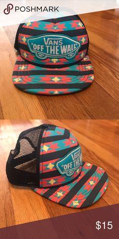 15f08758b73 Vans Patterned Snapback NWOT - Cute Navajo print snapback hat. Never worn!  Vans Accessories