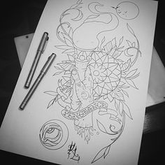 Torch tattoo design. #tattoo #tattoos #ink