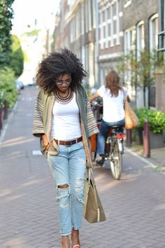boho chic hair | blackfashion:Boho & Chic Outfit by femininebliss.com