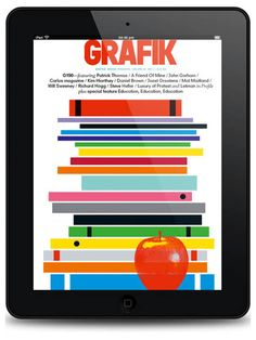 grafik magazine cover