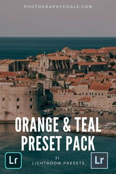 Take your Instagram look to the next level without having to learn complicated adjustments in Lightroom. The Orange & Teal Presets from Photography Goals gives you 9 different options for that popular look that makes your photos pop off the screen. Outdoor Portrait Photography, Landscape Photography Tips, Outdoor Portraits, Photography Editing, Drone Photography, Photography Tutorials, Photography Photos, Beauty Photography, Creative Photography