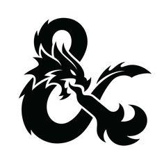 Epic ampersand for the new logo of Dungeons & Dragons by Von Glitschka of Glitschka Studios - Blog Logo, Rundes Logo, Dm Screen, Logo Design, Branding Design, D&d Dungeons And Dragons, Symbol Tattoos, Tatoo Art, Pen And Paper