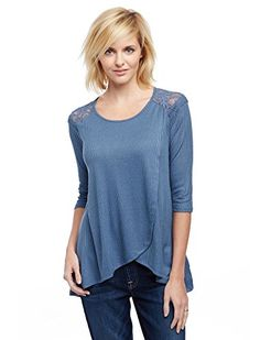 ac3a39e5e7d04 Jessica Simpson Pull Over Wrap Nursing Top >>> To view further