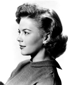 Natalie Wood publicity portrait for Rebel Without a Cause, 1955.