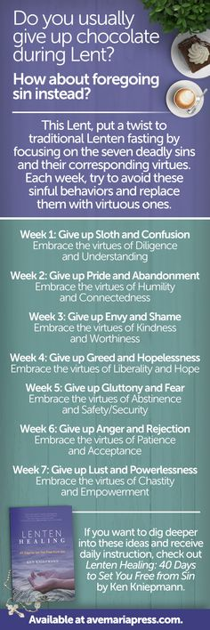 What are you giving up for Lent? How about trying something new this year and try to avoid sinful behavior? Learn more at avemariapress.com