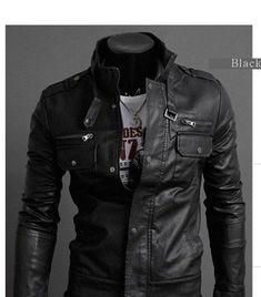 MEns Brando Vintage look Leather JAcket http://www.stinsonleathers ...
