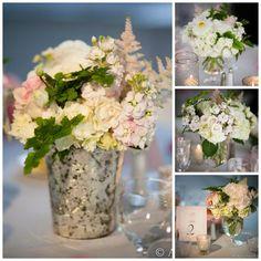 Kelly + Tony ~ Fonthill Castle & Mercer Museum Wedding #centerpieces #silvermercury #AsyaPhotography