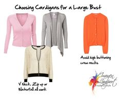 Choosing Cardigans For Large Busts By Imogenl Liked On Polyvore Featuring Doublju