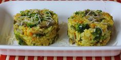Kurkumové rizoto so zeleninou - Tinkine recepty