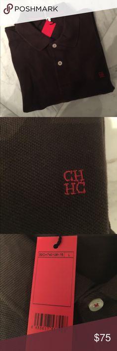 NWT CAROLINA HERRERA MENS POLO CH CAROLINA HERRERA Carolina Herrera Shirts Polos