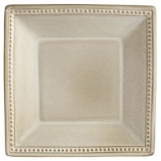 6.00+SHIPPING  SIZE???? Spice Route Square Salad Plate - Sesame