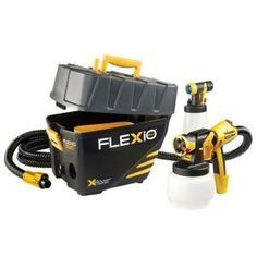 Wagner Flexio 890 HVLP Paint Sprayer Station  Model # 0529021 Internet # 204784242 Store SKU # 1000037216 $189.00 The Wagner FLEXiO 890 is an indoor and outdoor portable paint system with integrated storage.