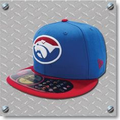 Western Bulldogs New Era 59FIFTY Sideline Cap - Fitted - Blue $59.95