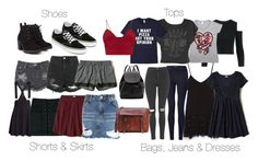 """""""Damon Inspired Spring/Summer Essentials"""" by fangsandfashion ❤ liked on Polyvore featuring Glamorous, Junk Food Clothing, H&M, Zara, John Lewis, Topshop, Hollister Co., Red Herring, Vans and Witchery"""