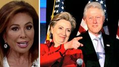 Judge Jeanine Pirro went off this morning, calling the Clinton Foundation…