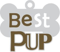 Best Pup Caption SVG File