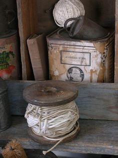 I just love such old rustic things. So much love and warmth in them!