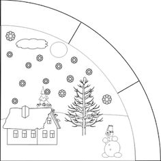 Marci development and creative side: Class 2 Seasons Months, Weather Seasons, Four Seasons, Early Childhood Education, Science For Kids, Coloring Pages For Kids, Preschool Activities, Diy For Kids, Worksheets