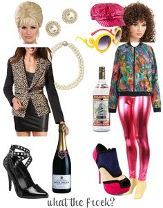 """Patsy and Edina Halloween Costumes - Just need to find someone who """"gets"""" it like I do"""