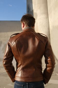 The ROCKET Jacket... in leather by Trost on Etsy