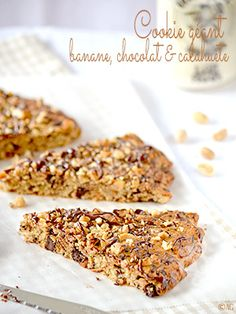 Cookie géant  banane, chocolat & cacahuète - Alter Gusto