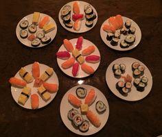 Sushi, gemaakt dec 2014