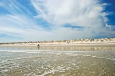 The beautiful beaches of St. Augustine, Florida!