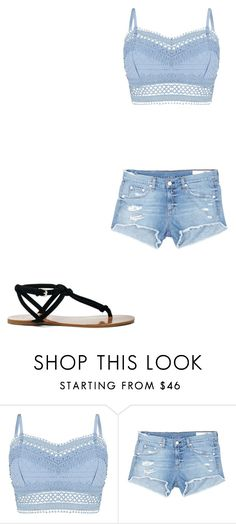 """summer  freedom"" by jacqueline123-1 ❤ liked on Polyvore featuring Lipsy, rag & bone/JEAN and Sole Society"