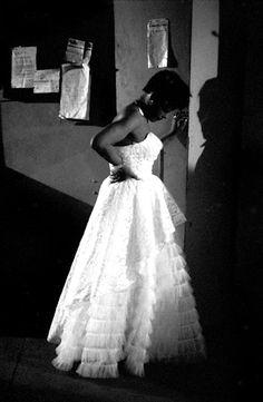 Billie Holiday in New York City, 1953. Photo by Herman Leonard.