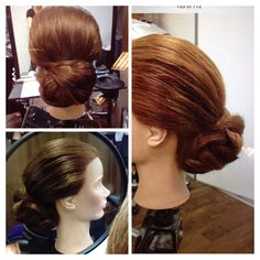 Spread braid over bun updo, braided updo, bridal updo Hair: Kim Ikonen Jennings, Stockholm Sweden. www.kimikonen.com instagram.com/kimikonencreatives facebook.com/kimikonenmakeupartist