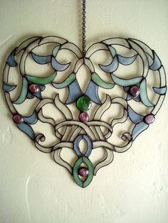 Glass Lace Heart