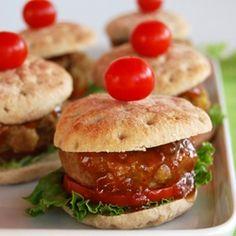 Caribbean Mini-Burgers (in French)