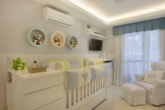 Resultado de imagem para quarto bebe menino tons pasteis