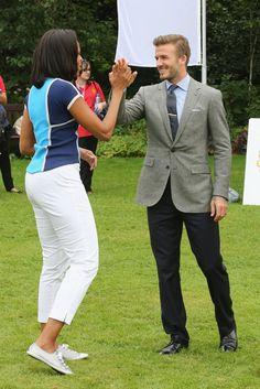 Pin for Later: Ces Célébrités Sont Tout Aussi Fans de David Beckham Que Nous Michelle Obama