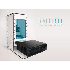 SolidRay - 3D Printer Kit SLA/DLP (May 2015)