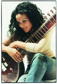 Anoushka Shankar-I would like to learn that instrument someday..