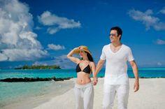 MRandMrs on the BEACH BEAUTIFUL! !♡