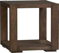 Lodge Side Table in Accent Tables | Crate and Barrel