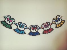 Sailor Moon perler beads by yukapi119