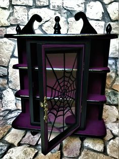 Goth Bedroom, Bedroom Decor, Casa Top, Horror Decor, Goth Home Decor, Gothic Furniture, Gothic House, Aesthetic Bedroom, My New Room