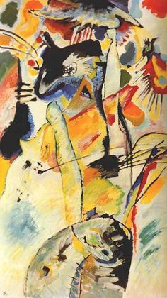Kandinsky Number 198 1914, oil on canvas 20th century art